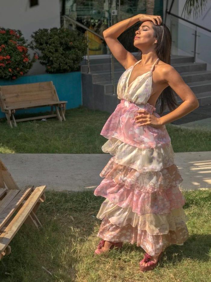 vestido florenchia en varios tonos